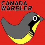 Canada Warbler Social Media Badges Twitter Facebook