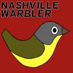 Nashville Warbler Social Media Badge Facebook Twitter